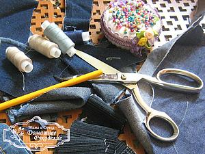 Делаем оригинальную заплатку на джинсы. Ярмарка Мастеров - ручная работа, handmade.