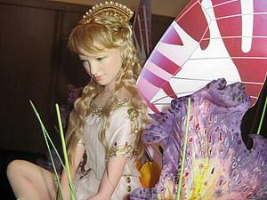 Небольшая поэтапка лепки головы милой девушки (в последующем - кукла Принцесса Эльфов) | Ярмарка Мастеров - ручная работа, handmade