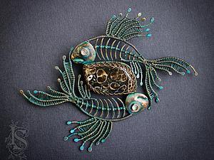 Мастер-класс: делаем древних рыб из меди в технике wire work. Ярмарка Мастеров - ручная работа, handmade.
