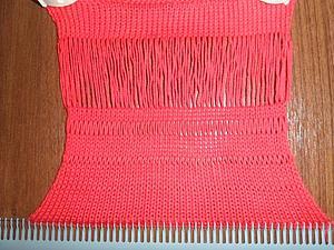 Способы вязания больших петелек. Ярмарка Мастеров - ручная работа, handmade.