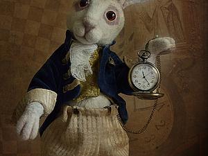 Белый Кролик!   Ярмарка Мастеров - ручная работа, handmade