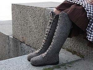Мастер-класс Марины Климчук «Валенки-ботинки» в Харькове | Ярмарка Мастеров - ручная работа, handmade
