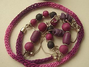 Необычный способ вязания цветных шнурков. Ярмарка Мастеров - ручная работа, handmade.