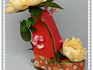 Туфельки из конфет   Ярмарка Мастеров - ручная работа, handmade