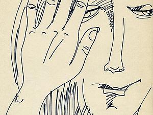 Чёрно-белое баловство : эскизы,наброски ,часть 2 | Ярмарка Мастеров - ручная работа, handmade