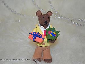 Мастер-класс: мишка | Ярмарка Мастеров - ручная работа, handmade