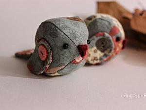 Мастер-класс: Текстильная птичка | Ярмарка Мастеров - ручная работа, handmade