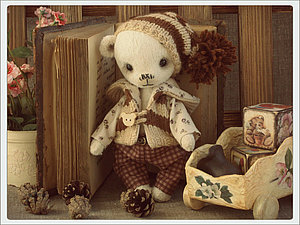 Конфетный мишка! | Ярмарка Мастеров - ручная работа, handmade