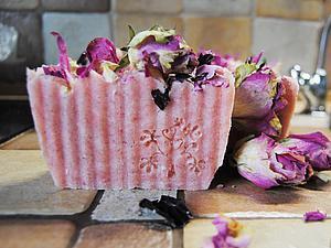 Варим «Розовое мыло» горячим способом. Ярмарка Мастеров - ручная работа, handmade.