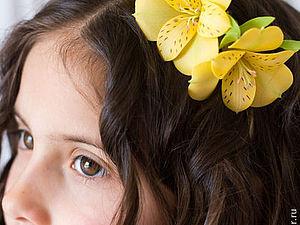 Украшения для волос девочек | Ярмарка Мастеров - ручная работа, handmade