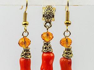 Сборка оригинального комплекта украшений. Ярмарка Мастеров - ручная работа, handmade.