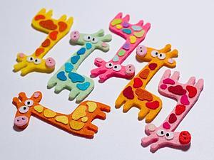 Нашествие жирафов в моём магазине! | Ярмарка Мастеров - ручная работа, handmade