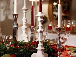 Украшаем  новогодний стол. | Ярмарка Мастеров - ручная работа, handmade