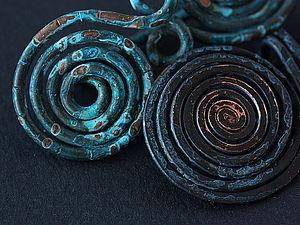 Спирали | Ярмарка Мастеров - ручная работа, handmade
