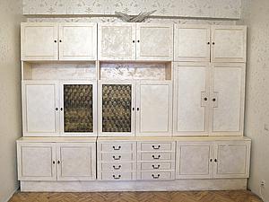 Как сделать старую мебель современной, handmade
