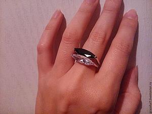 Кольцо Инь-янь Топаз сапфир. Старт 1000 руб | Ярмарка Мастеров - ручная работа, handmade