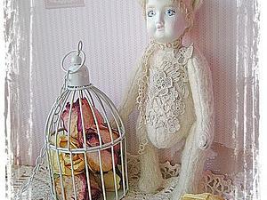 Волшебная тедди -долл Лючия. 19 век!!! | Ярмарка Мастеров - ручная работа, handmade