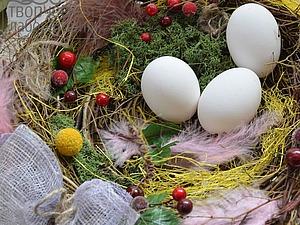 Мастерим интерьерное гнездо. Ярмарка Мастеров - ручная работа, handmade.