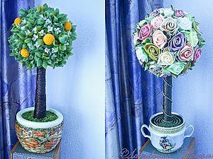 Розовое дерево  + Апельсиновое дерево | Ярмарка Мастеров - ручная работа, handmade