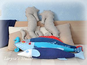 рыба - подушка, handmade