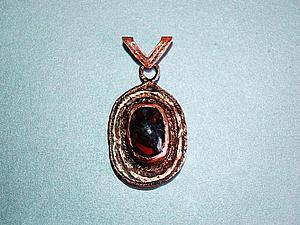 Как сделать кулон «Кровь Дракона». Ярмарка Мастеров - ручная работа, handmade.