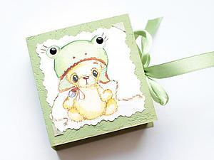 Мастерим интересную упаковку для маленькой игрушки | Ярмарка Мастеров - ручная работа, handmade