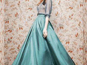 Длинная юбка - женственность или неудобство?! | Ярмарка Мастеров - ручная работа, handmade