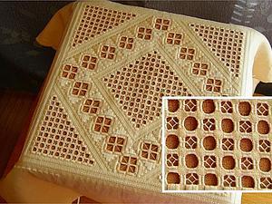 Вышивка в технике хардангер. Ярмарка Мастеров - ручная работа, handmade.