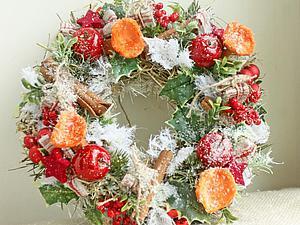 Из истории рождественского венка. Ярмарка Мастеров - ручная работа, handmade.