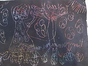 Делаем «гравюру» с детьми. Ярмарка Мастеров - ручная работа, handmade.