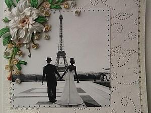 Свадьба в Париже   Ярмарка Мастеров - ручная работа, handmade