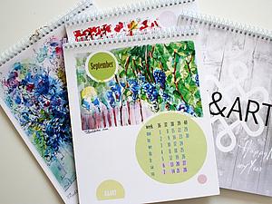 Календари K&ART на 2014 год!   Ярмарка Мастеров - ручная работа, handmade