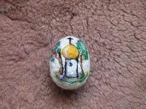Валяем пасхальное яйцо из шерсти — просто и красиво. Ярмарка Мастеров - ручная работа, handmade.