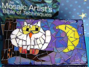 Декорируем мини-комод в технике мозаики. Ярмарка Мастеров - ручная работа, handmade.