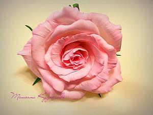Роза из фоамирана «Нежность». Часть 2: сборка. Ярмарка Мастеров - ручная работа, handmade.