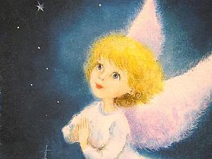 Ангел на благотворительном аукционе для Анечки до 23.04 | Ярмарка Мастеров - ручная работа, handmade