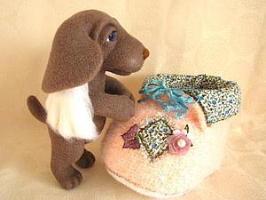 АнгелУша - щенок-ангел-хранитель! | Ярмарка Мастеров - ручная работа, handmade