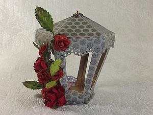 Декоративный фонарик.. Ярмарка Мастеров - ручная работа, handmade.