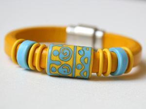 Расширение ассортимента-кожаные браслеты   Ярмарка Мастеров - ручная работа, handmade