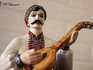 У нас появилось новое видео со скульптурой - Казак Мамай, встречайте! | Ярмарка Мастеров - ручная работа, handmade