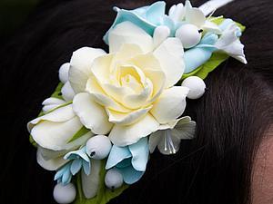 Невеста в цветочном ободочке. | Ярмарка Мастеров - ручная работа, handmade