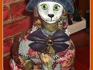 Кошка в шляпке... | Ярмарка Мастеров - ручная работа, handmade