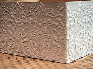 Создание объемных орнаментов/узоров с помощью шпатлевки. Ярмарка Мастеров - ручная работа, handmade.