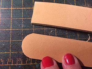 Как ровно обрезать углы на толстой коже. Ярмарка Мастеров - ручная работа, handmade.