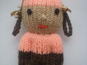 Вязаная куколка: мастер-класс. Ярмарка Мастеров - ручная работа, handmade.