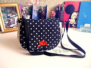 Как сшить милую сумочку для девочки. Ярмарка Мастеров - ручная работа, handmade.