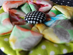 МК! Цветочек в японской технике. | Ярмарка Мастеров - ручная работа, handmade
