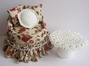 Делаем кресло для куколки в винтажном стиле | Ярмарка Мастеров - ручная работа, handmade
