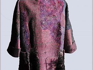 Мастер-шоу. Легкое пальто свободного силуэта. | Ярмарка Мастеров - ручная работа, handmade