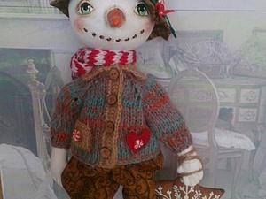 Запись на снеговичков!!по старой цене | Ярмарка Мастеров - ручная работа, handmade